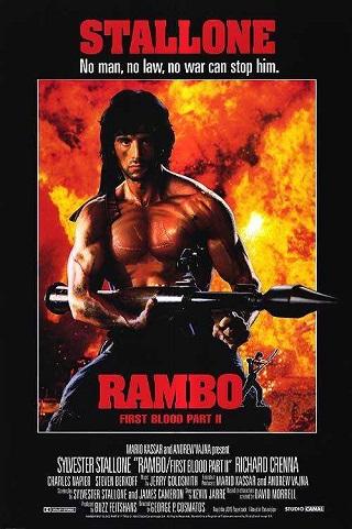 Rambo First Blood 2 1985 Dual Audio Hindi 300MB BluRay 480p