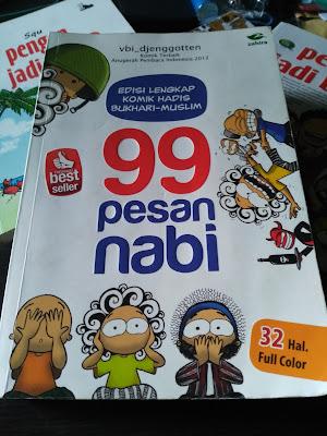 Cover Buku 99 Pesan Nabi