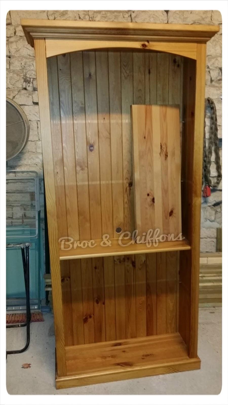 broc et chiffons relooking de meubles dans les deux s vres 79 patine l 39 ancienne biblioth que. Black Bedroom Furniture Sets. Home Design Ideas