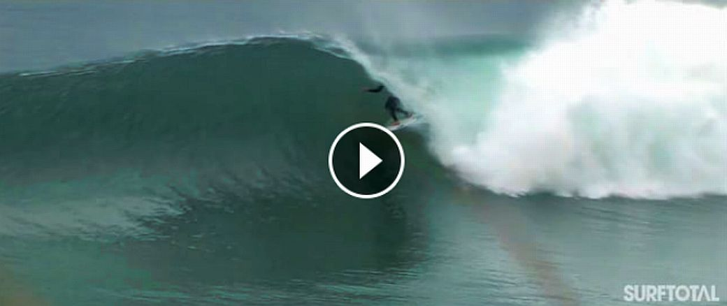 SLATER AND MICK FIND IN PENICHE THE BARRELS OUT OF SUPER TUBOS