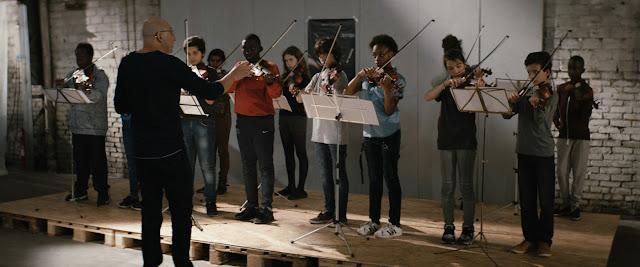 La Mélodie: Die Geigenklasse beim Üben © 2017 PROKINO Filmverleih GmbH