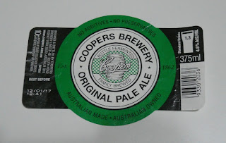 cooper's brewery original pale ale