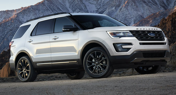 2017 ford explorer gets new xlt sport appearance package. Black Bedroom Furniture Sets. Home Design Ideas