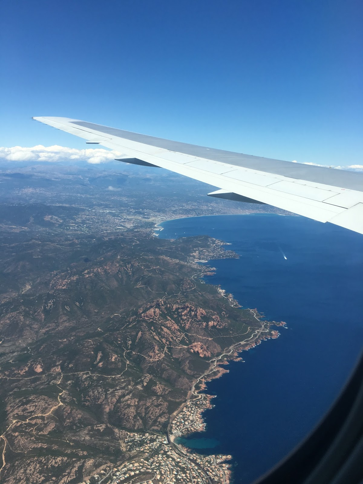British Airways landing into Nice Côte d'Azur International Airport