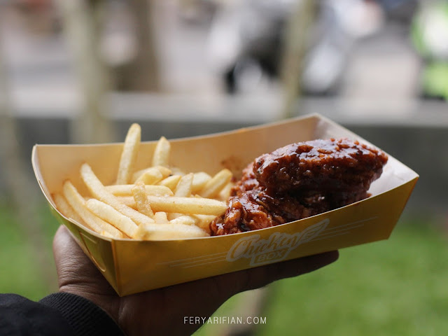 Menu paket a Chicken Box Malang