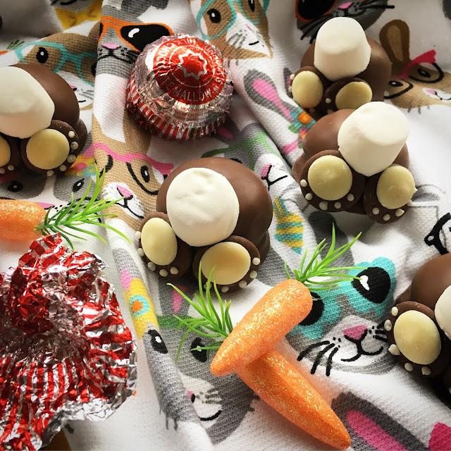 Scottish Tunnock's Teacake Easter Bunny Bums