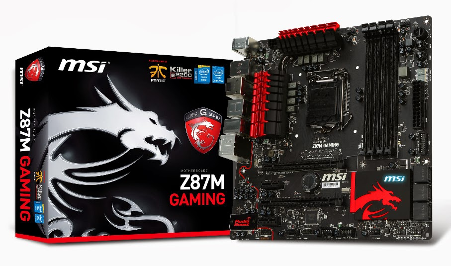 de06eacaa81 MSI, one of the world leaders in main boards, debuts its first Intel 8-chip  set based mATX GAMING motherboards- Z87M GAMING. Inherited with the  outstanding ...