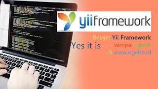 Install yii framework di localhost