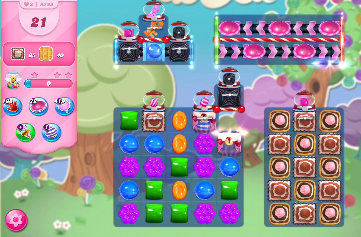 Candy Crush Saga level 5252