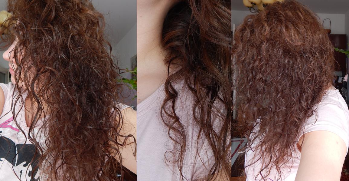 fryzura z kręconych włosów