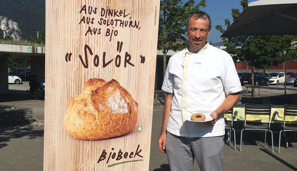 Reto Weber, Leiter VEBO Bio Bäckerei: «Biologische Rohstoffe haben eine höhere Qualität.»