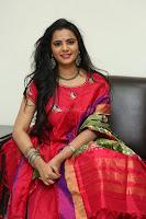 Manasa in Pink Salwar At Fashion Designer Son of Ladies Tailor Press Meet Pics ~  Exclusive 33.JPG
