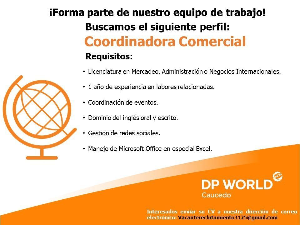 Vacante Para Coordinador Comercial Ayuda Empleos Rd