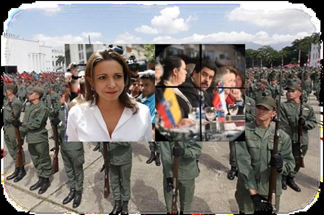 """""""EN EXPEDIENTE POR MAGNICIDIO IMPLICAN A MARÍA CORINA"""". POR SEBASTIANA BARRÁEZ"""