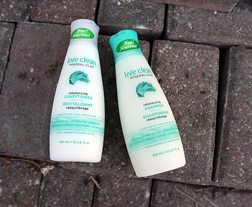 Live Clean Mineral Clay Rebalancing Shampoo and Rebalancing Conditioner ~ #Review #Giveaway