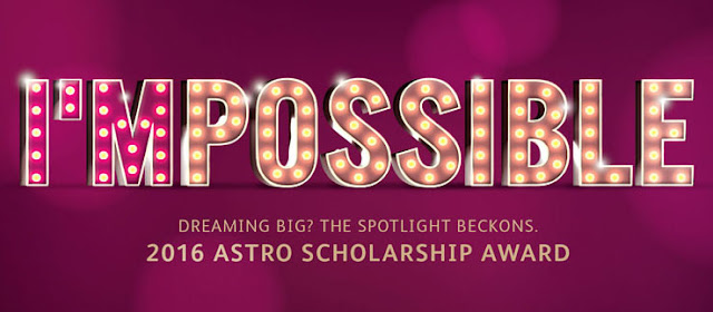 The Astro Scholarship Award 2016 - Biasiswa ASTRO 2016