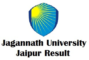 Jagannath University Jaipur Result 2018