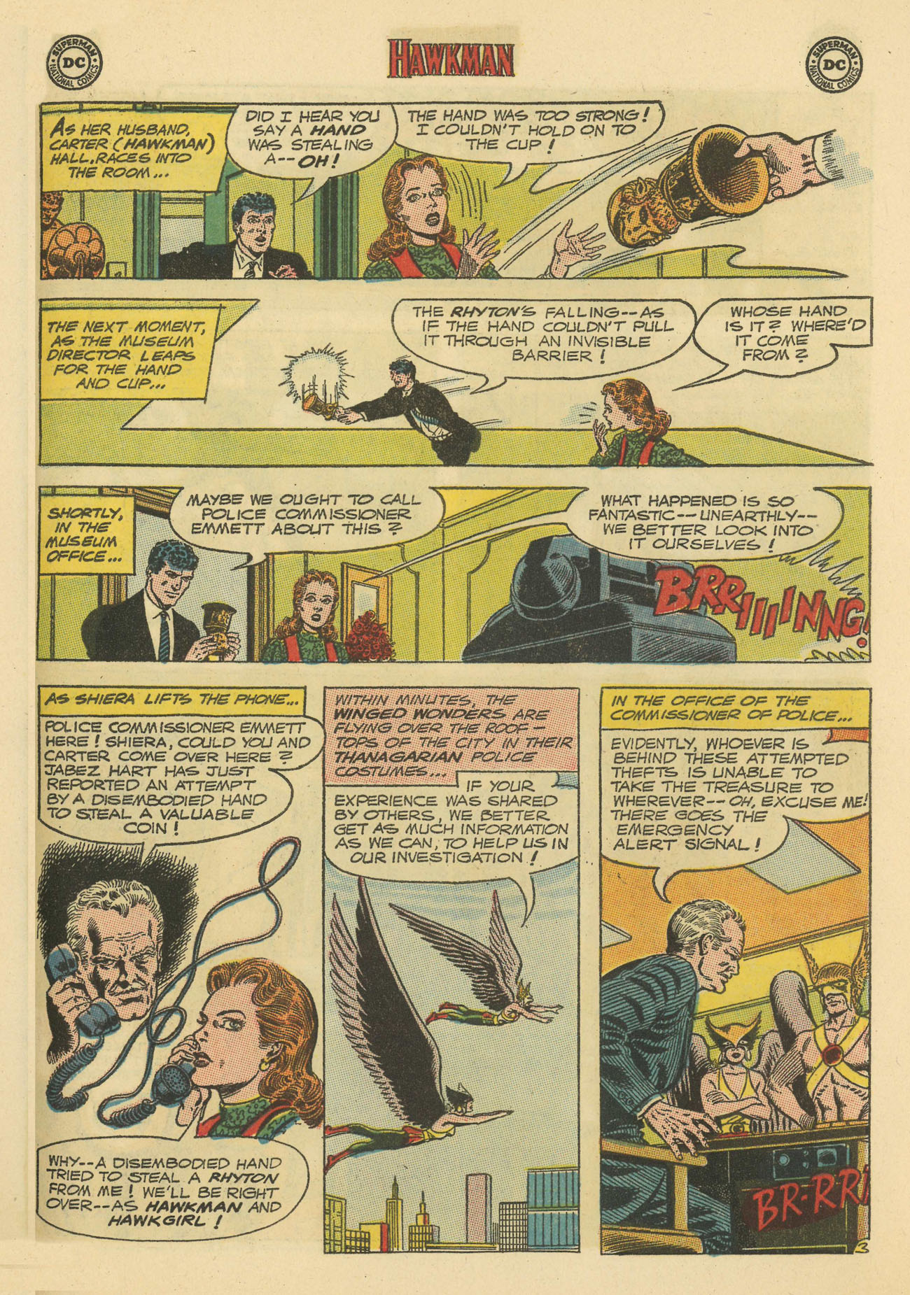 Hawkman (1964) issue 4 - Page 23