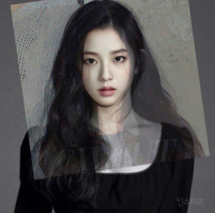 Face morph of BlackPink's Jisoo and Red Velvet's Irene