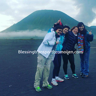 Shu Yin and friends (MY), transport Surabaya airport to Mount Bromo. Oct, 25th to 27th, 2016