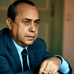 The writer and politician Leonardo Sciascia
