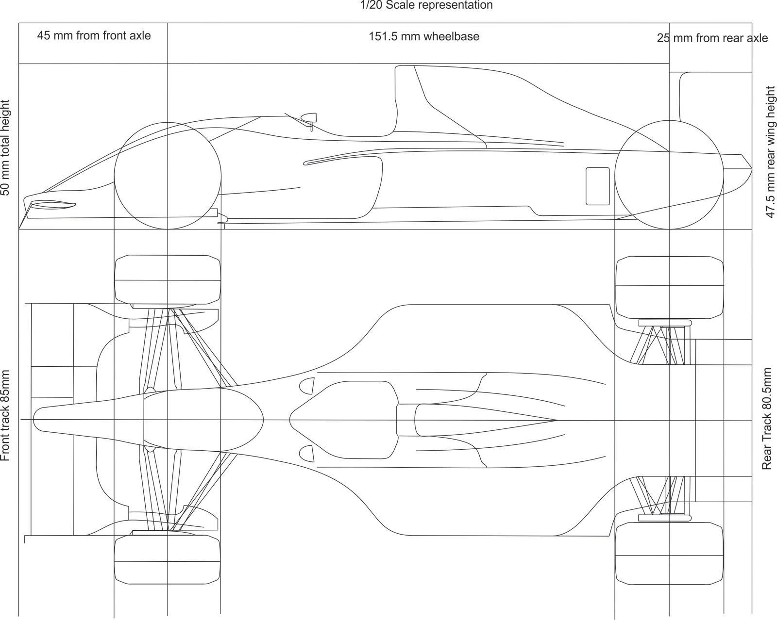 Scratchbuilding A 1  20 Scale F1 Replica  F1 Car Design In Catia V5