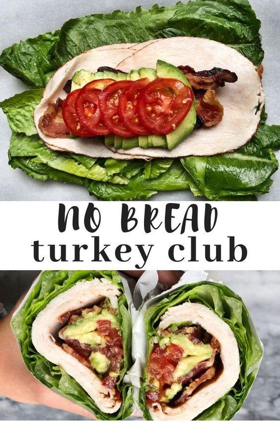 No Bread Turkey Club