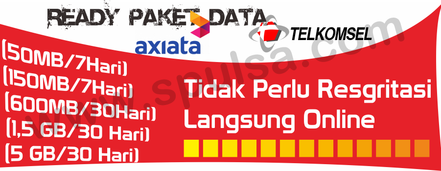 Pulsa Paket Data antaREFILL.com