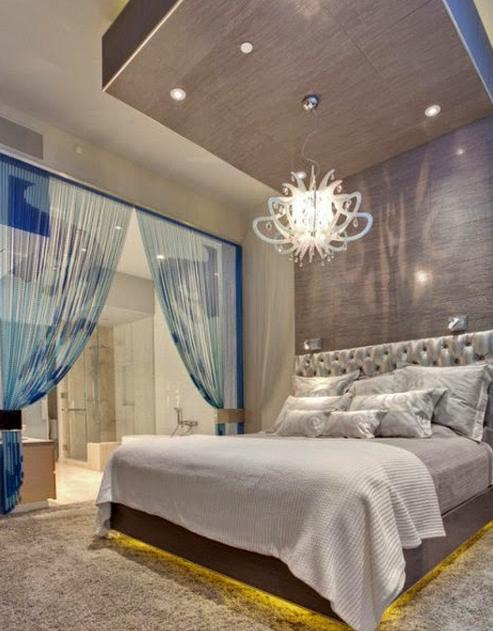 construindo minha casa clean quartos modernos decorados com p rtico veja dicas e ideias. Black Bedroom Furniture Sets. Home Design Ideas