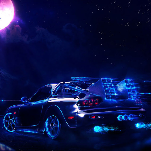 NEON CAR Wallpaper Engine