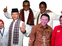 Hasil Pilkada DKI Jakarta 2017 versi Quick Count