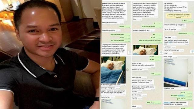 Galang Dana Untuk Anak Tukang Sapu, Nomor WhatsApp Ini Sesungguhnya Bikin Geram...