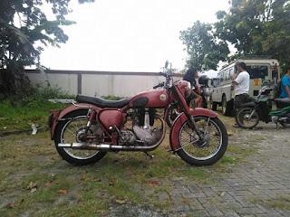Dijual motor tua bsa