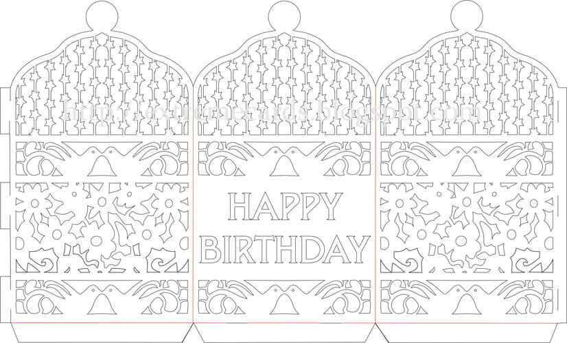 Contemporary paper cut designs templates image collection resume happy birthday paper cut lantern tutorial maxwellsz