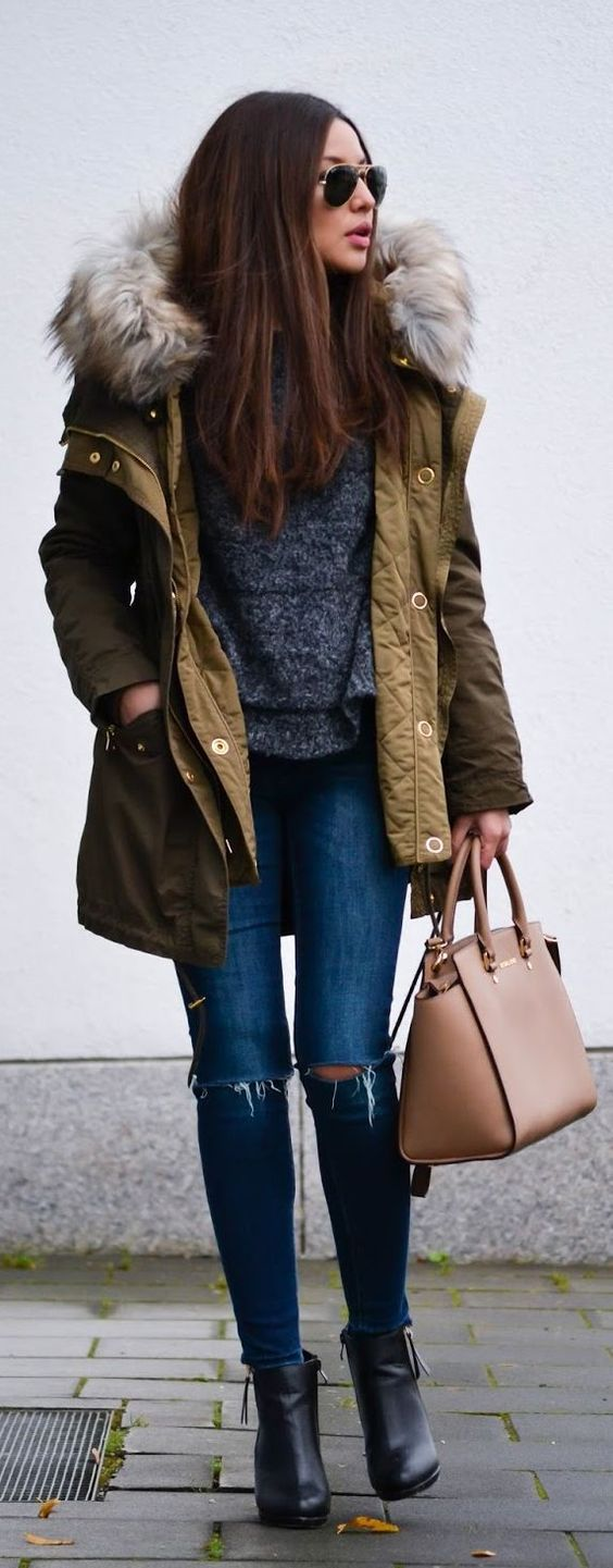 Winter Outfits 2018 Pinterest to Try Now #winteroutfits