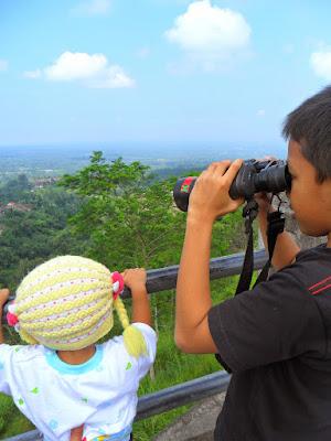 pemandangan alam di ketep pass