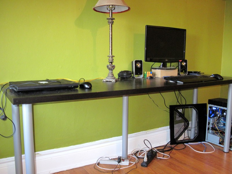 Images of Long Desk For Two - Home Design Ideas