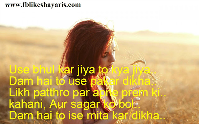 Use Bhul Kar Jiya To Kiya Jiya - Heart Touching Shayari Lover 2017