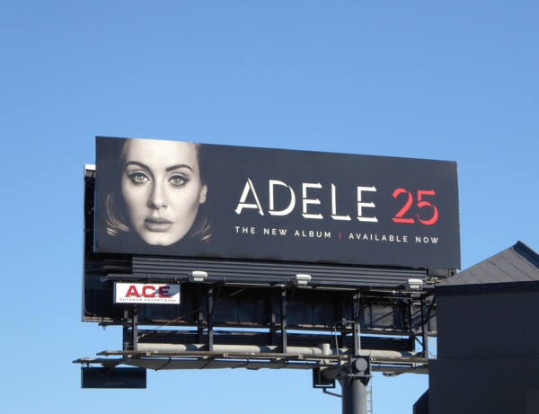 Adele 25 album billboard