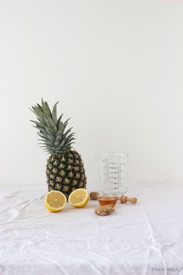 tinkas welt husten und halsweh versucht es mal mit einem ananas smoothie. Black Bedroom Furniture Sets. Home Design Ideas