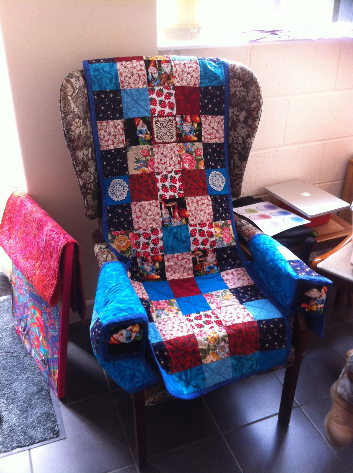 Chair Covers And More Norfolk Task Office Depot Quilters Cottage Patchwork Cover
