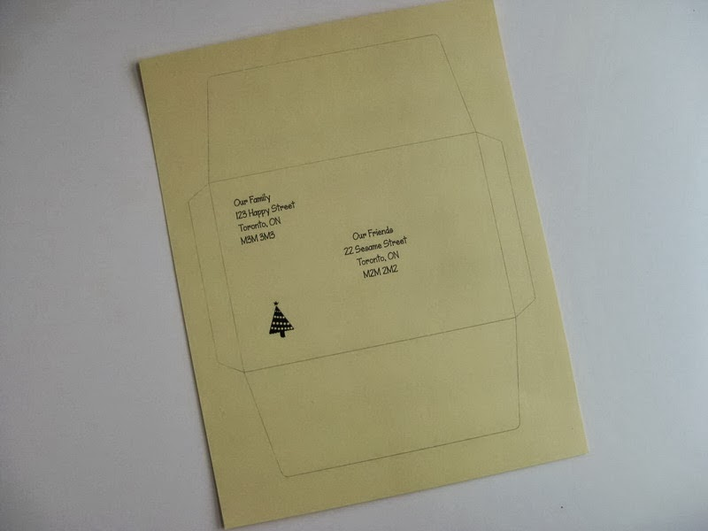 My Handmade Home: Tutorial: DIY 4x6 Envelope for Mailing ...