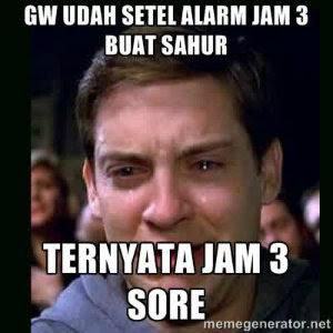 Status Sahur Pagi Lucu Untuk DP  Humor Lucu Banget