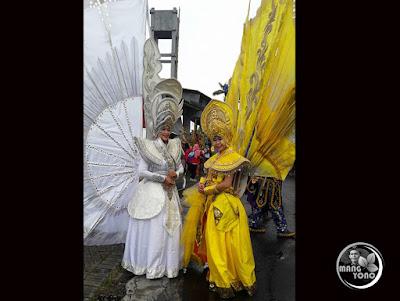 FOTO 2 : JEMBER Fashion Carnaval (JFC) 2016 dari DPD AKARI Provinsi Kepulauan Riau. Foto by. Neng Chaca