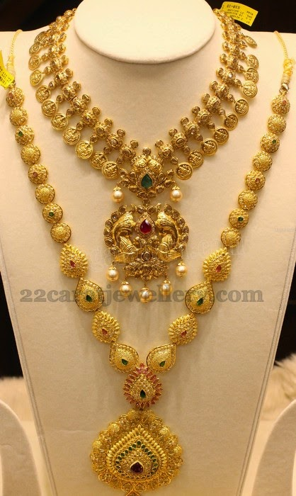 pear shaped gold sets jewellery designs