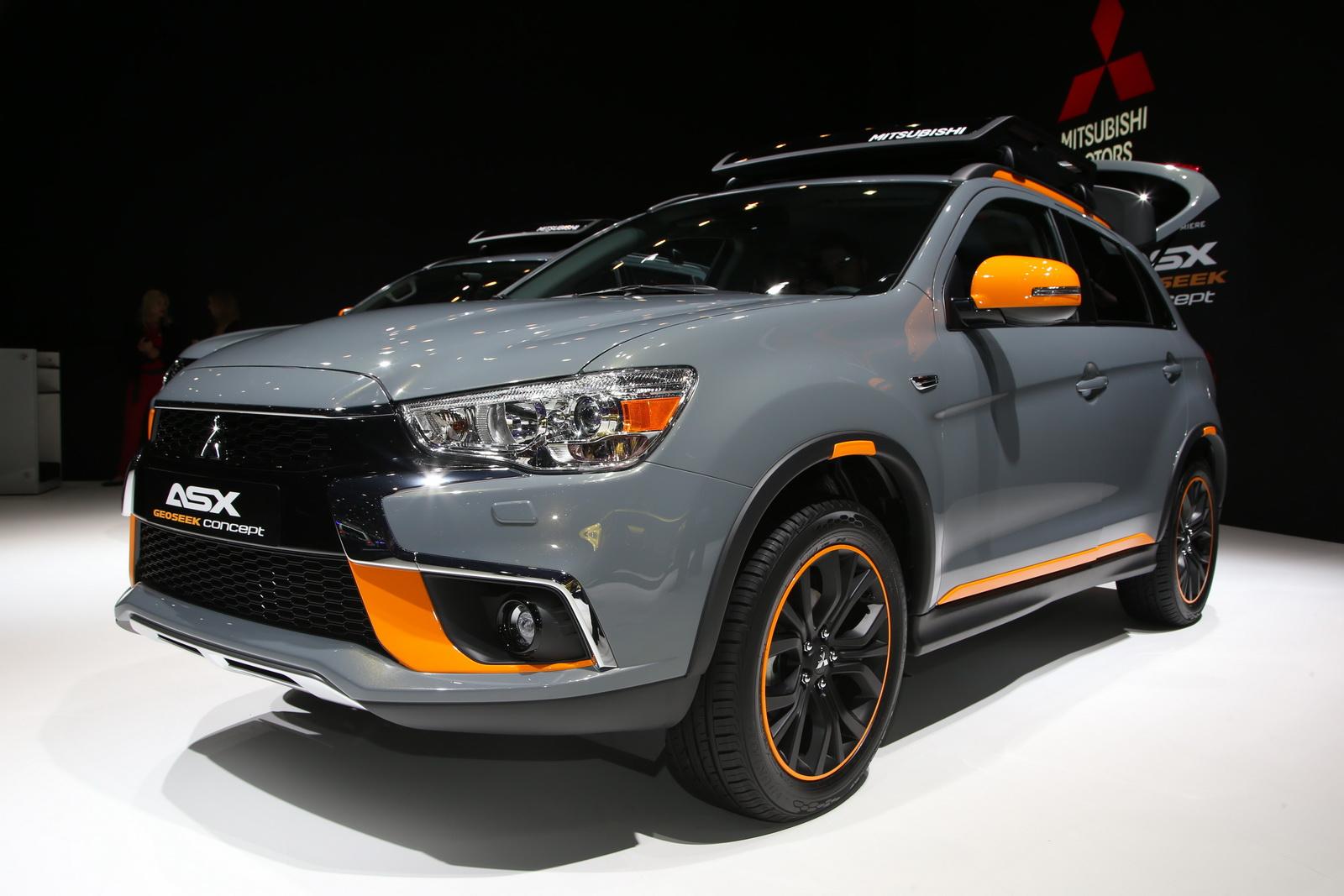 Mitsubishi ASX và Mitsubishi L200