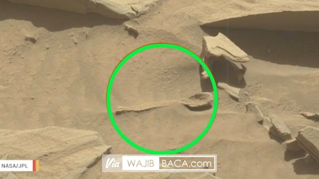 Sendok di Mars, NASA Kembali Gegerkan Netizen dengan Tanda Kehidupan Aliennya!