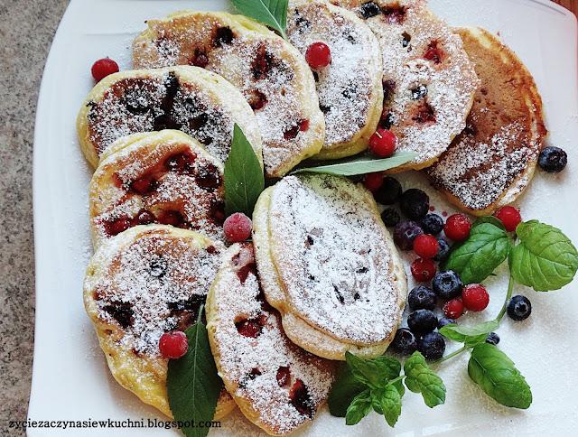 Placuszki z owocami