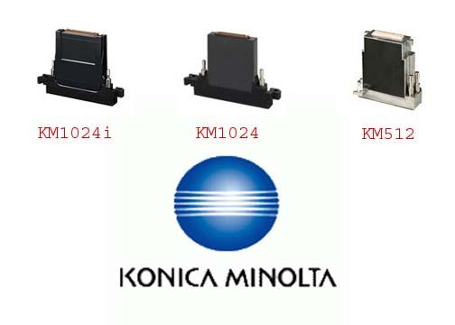 Konica Minolta Inkjet Printhead - KM1024i, KM1024 & KM512 Series
