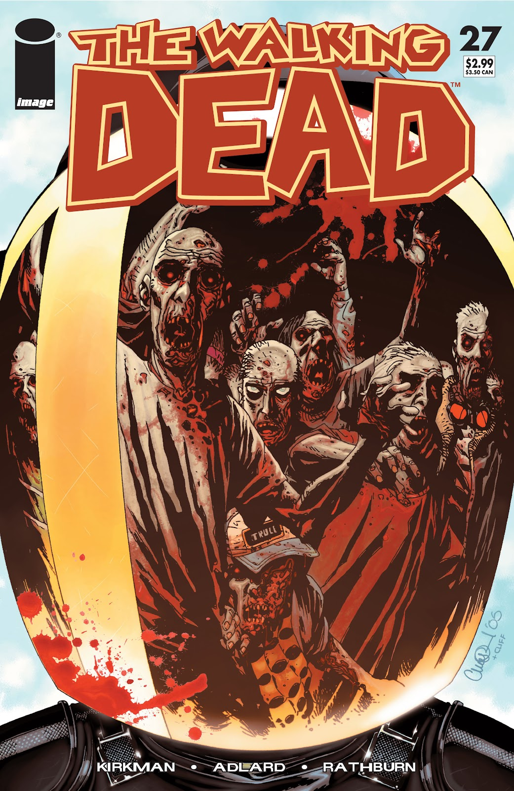 The Walking Dead issue 27 - Page 1
